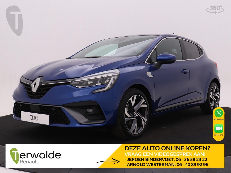 Renault Clio Tce 100 r.s. line voorraadvoordeel €2222,- privatelease vanaf €279,- per maand financieren tegen 3.9%