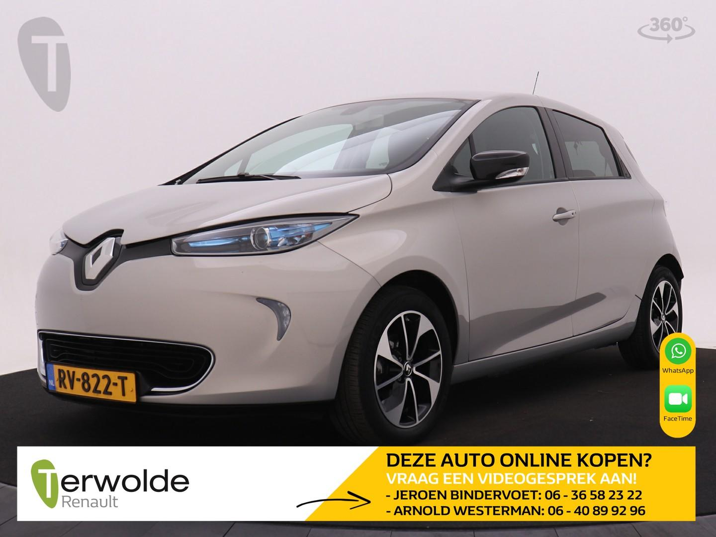 Renault Zoe Q90 intens quickcharge 41 kwh accu huur