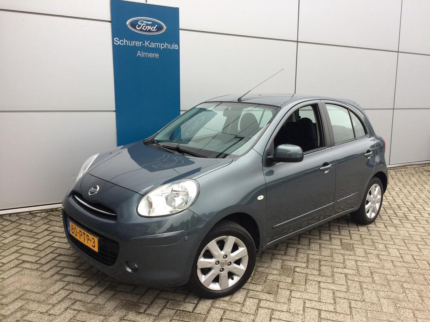 Nissan Micra 1.2 80pk connect edition