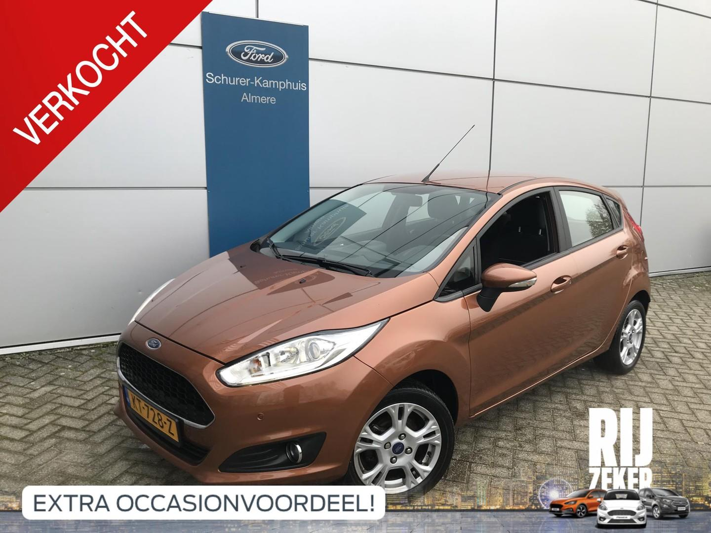Ford Fiesta 1.0 80pk style ultimate 5d