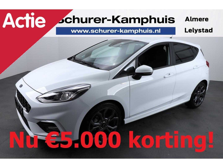 Ford Fiesta 1.0 100pk st-line €5.000 korting! navigatie climate led parkeersensoren