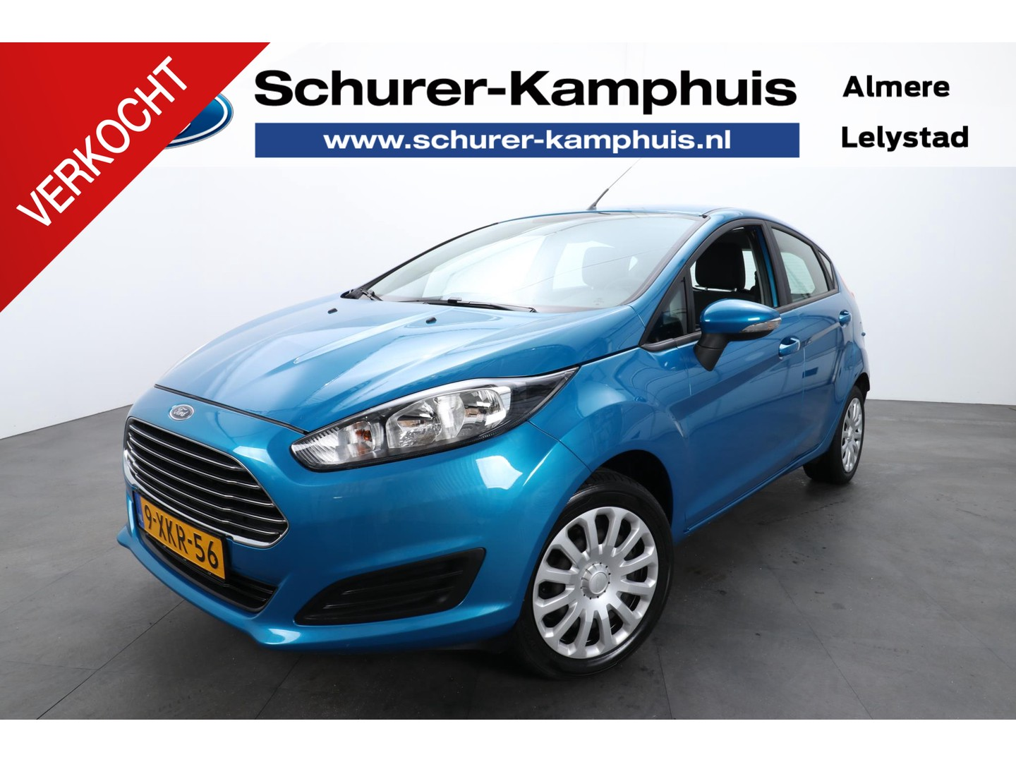 Ford Fiesta 1.0 style 5drs airco navigatie bluetooth usb