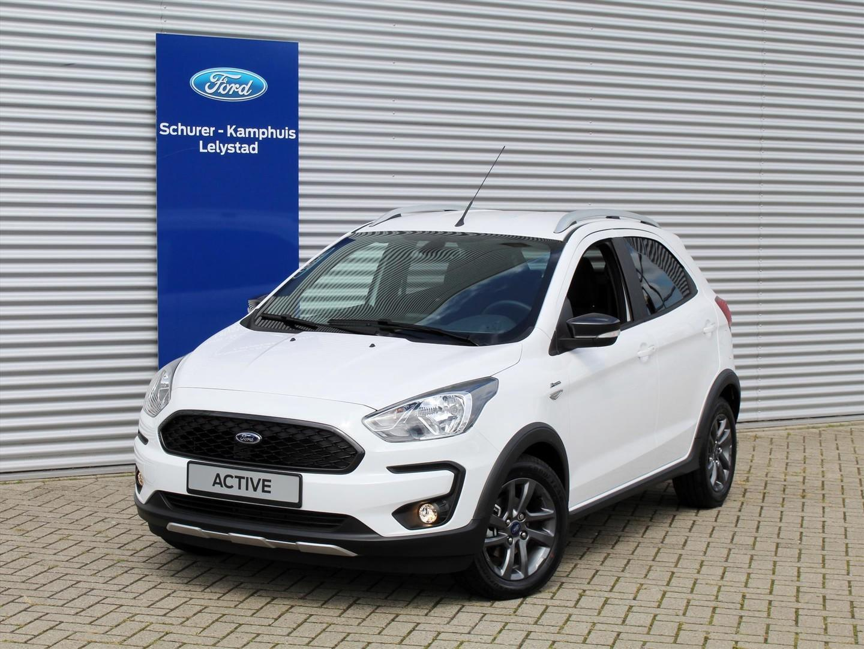 Ford Ka+ 1.2i (85pk) active luxury €1.850,= korting!
