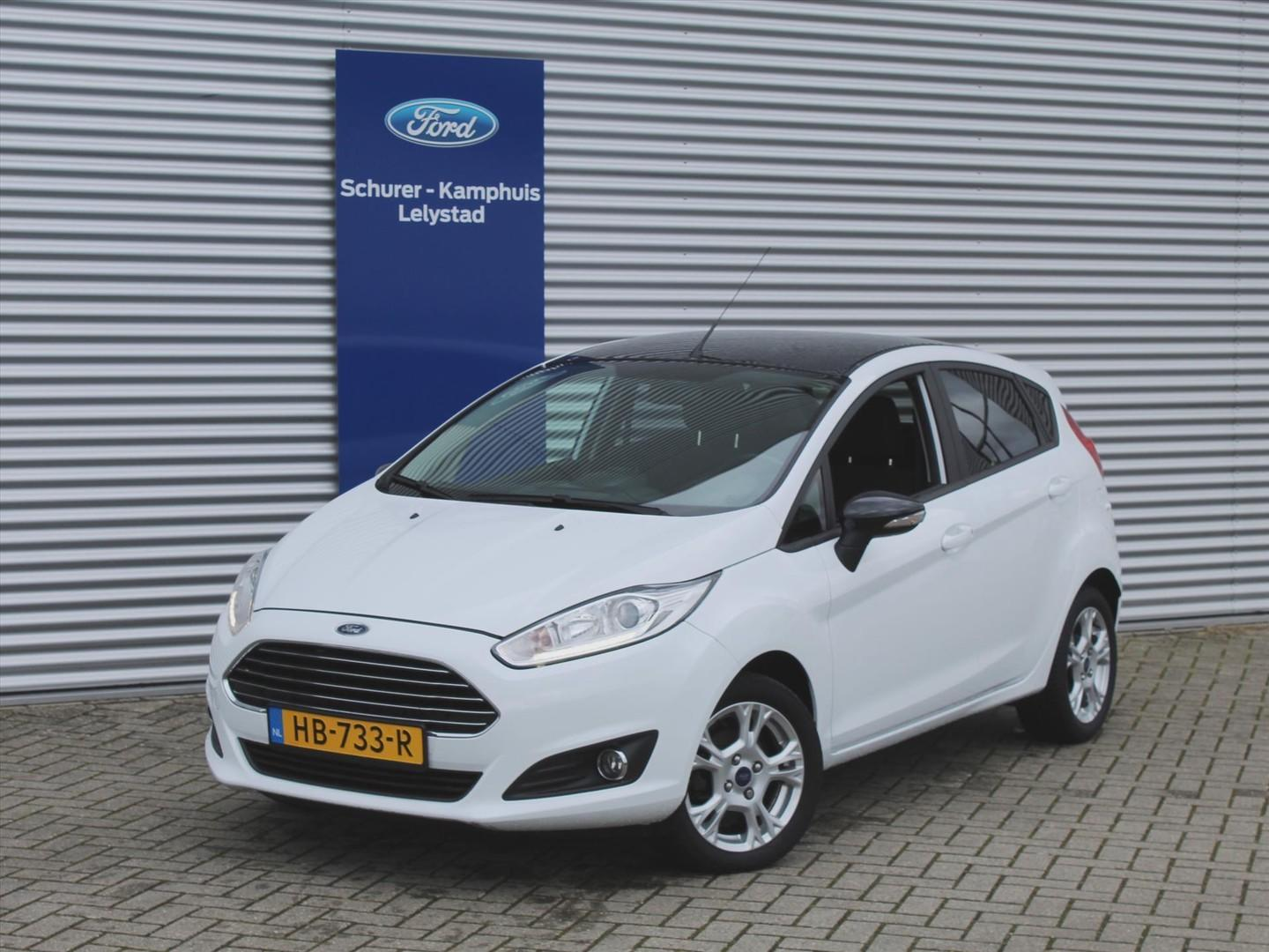 Ford Fiesta 1.0 (65pk) black & white edition 5-drs