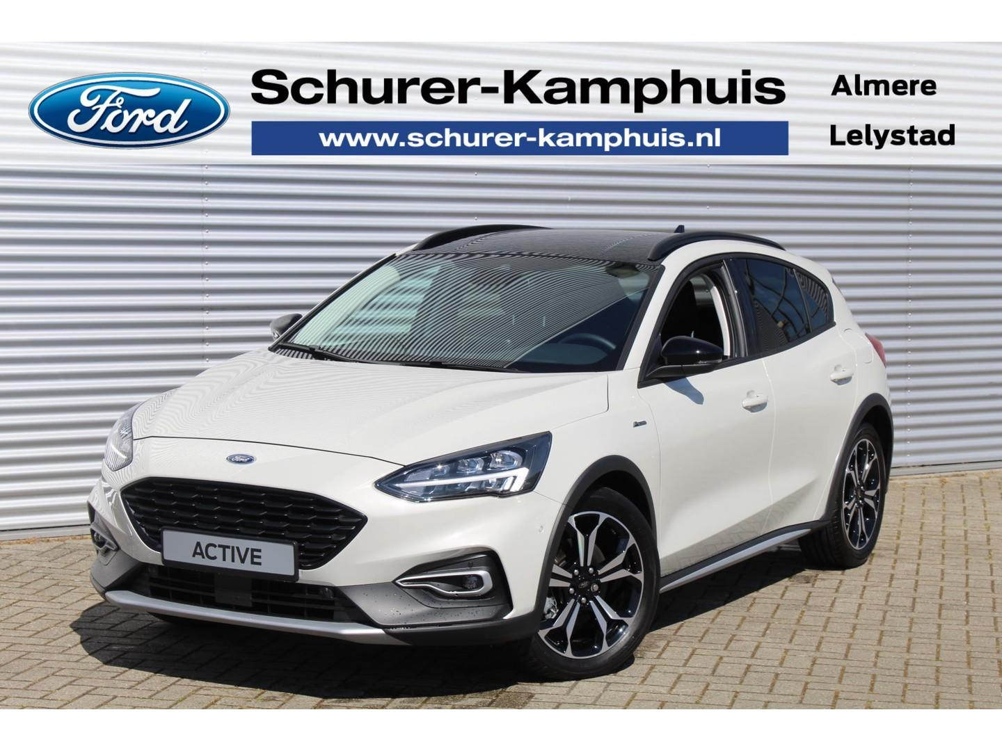 Ford Focus 1.0 ecoboost (125pk) active full options actie €6.000,- korting!!