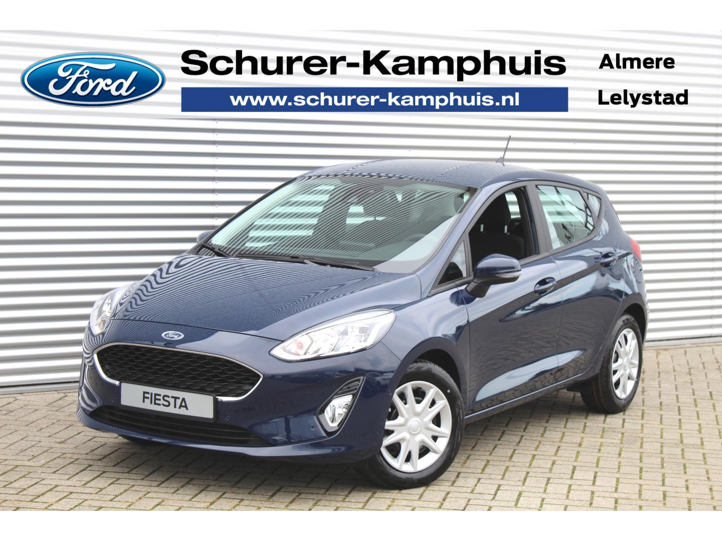 Ford Fiesta 1.0 ecoboost (95pk) connected navigatie/apple carplay& android auto/cruise control