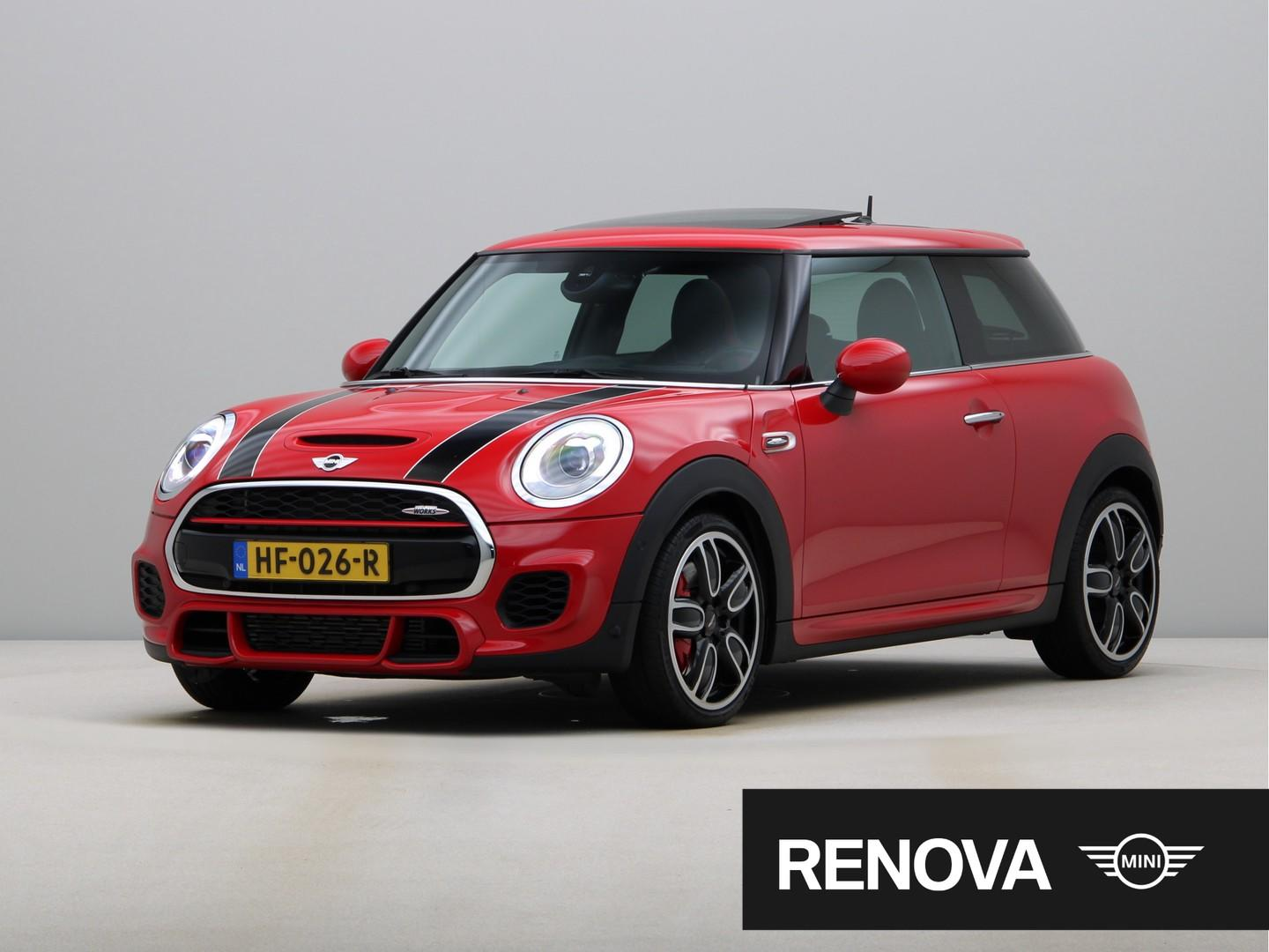 Mini 3-deurs John cooper works chili, serious business, wired