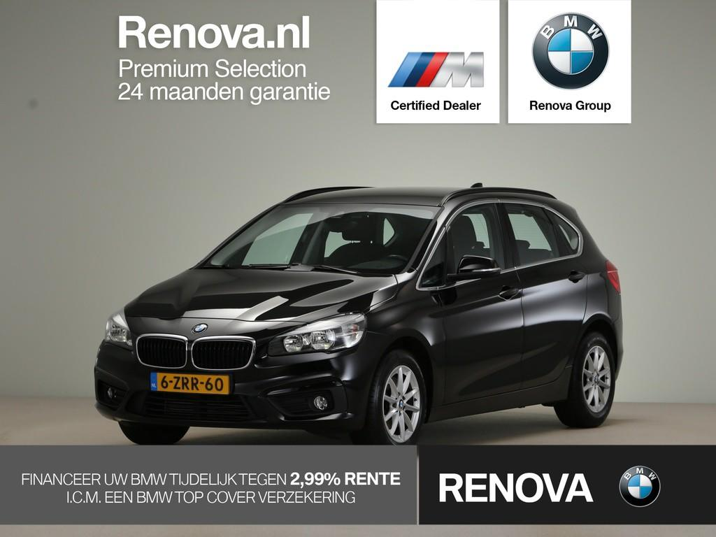 Bmw 2 serie Active tourer 218i executive model essential, navigatiesysteem, clima, sportstoelen, park distance control, trekhaak, alarm