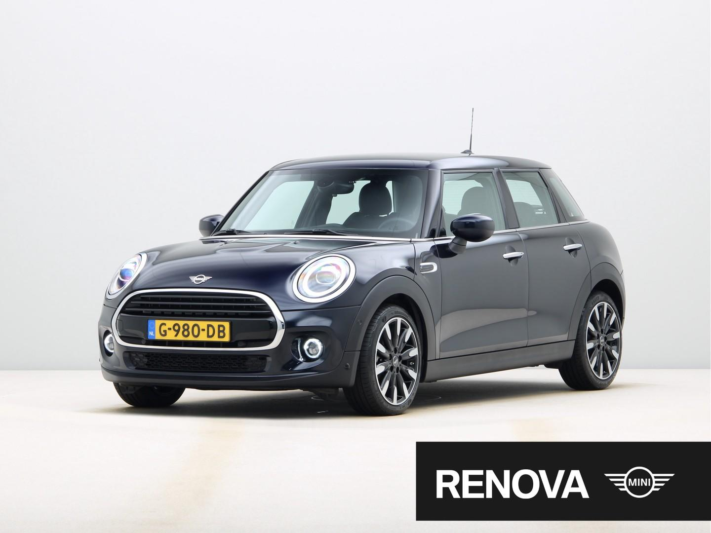 Mini 5-deurs 1.5 cooper, chili, serious business, automaat, head-up display
