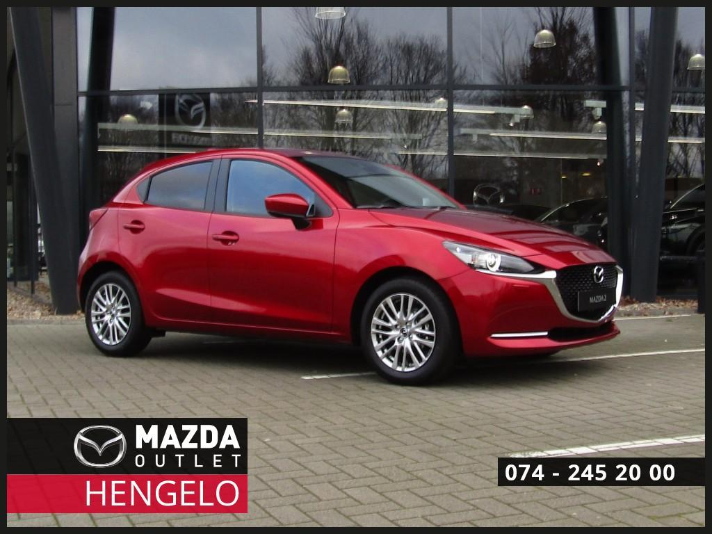 Mazda 2 1.5i luxury my2020 m hybrid i-activsense/navi/led/head up
