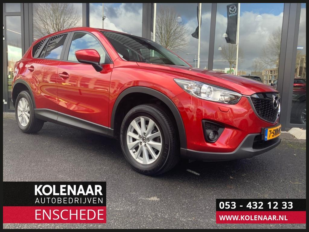 Mazda Cx-5 2.0i ts+ safety pack navi/airco/cruise/sensoren