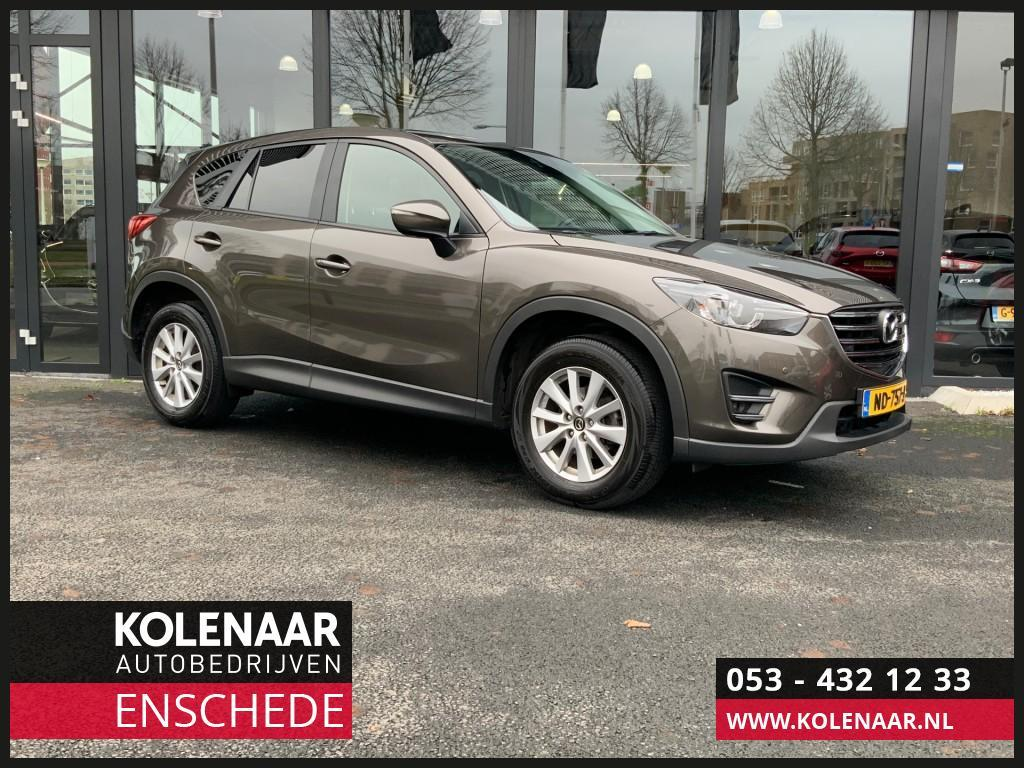 Mazda Cx-5 2.0i ts+ bose/leather pack navi/airco/cruise/trekhaak
