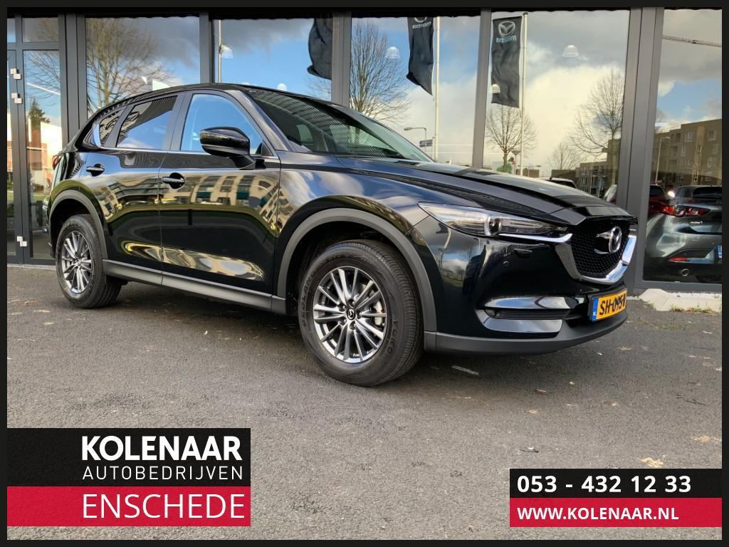 Mazda Cx-5 2.0i automaat ts+ bose/leather pack navi/airco/cruise/sensoren