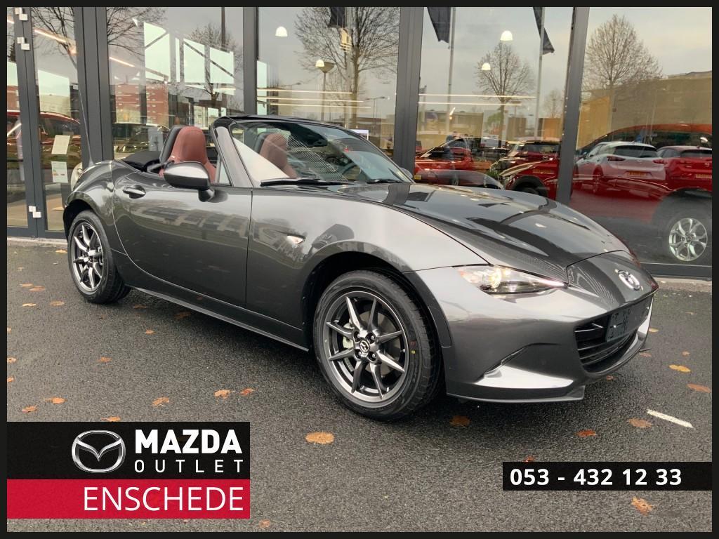 Mazda Mx-5 Eur 3.000 voordeel 1.5i gt-m nappa / led / climate / camera