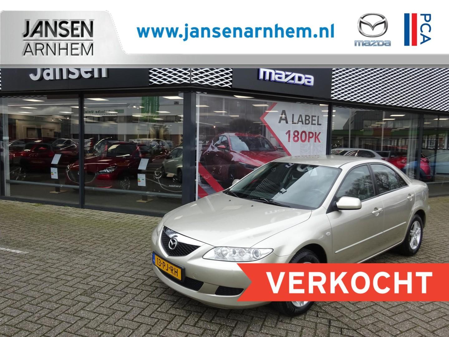 Mazda 6 1.8i exclusive , trekhaak, airco, lmv, cruise control