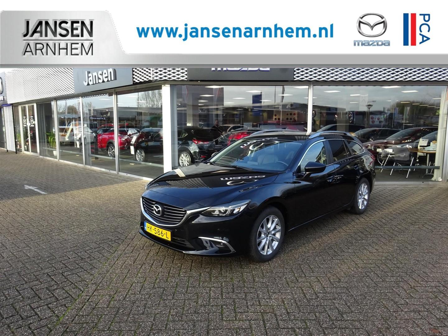 Mazda 6 Sportbreak 2.2d skyactiv-d 150 skylease gt , jansen private lease € 750,- p/mnd!