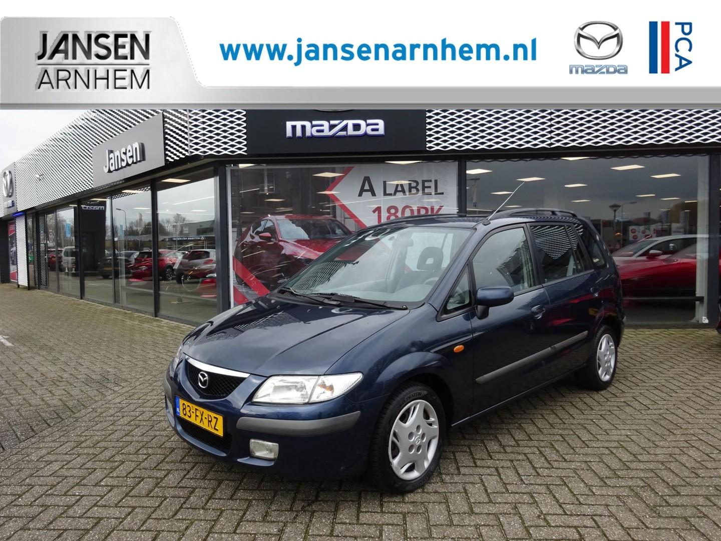 Mazda Premacy 1.8 hp exclusive , automaat, airco, all season banden