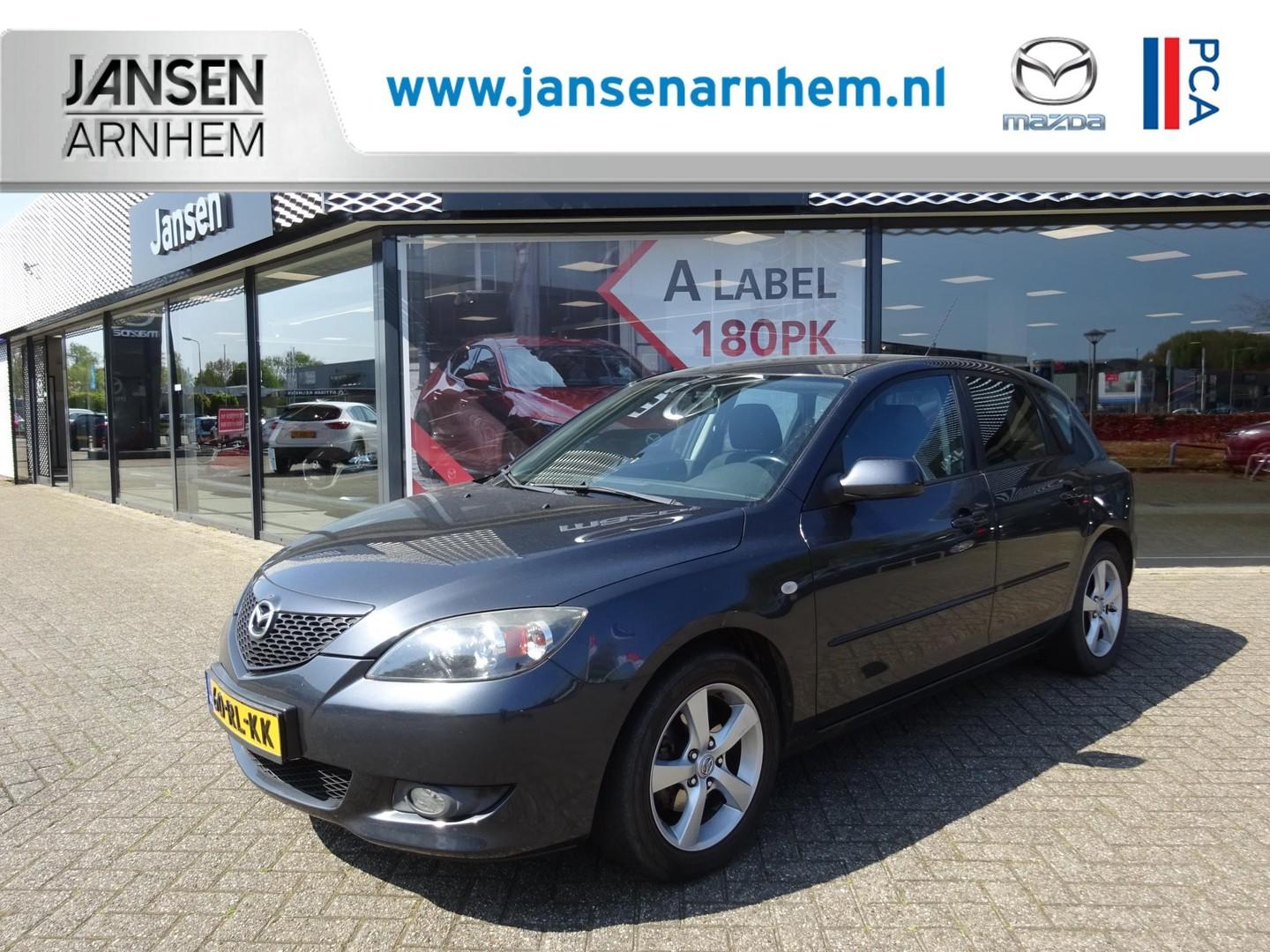 Mazda 3 Sport hb 1.6 executive , automaat, airco, trekhaak, lmv 16 inch