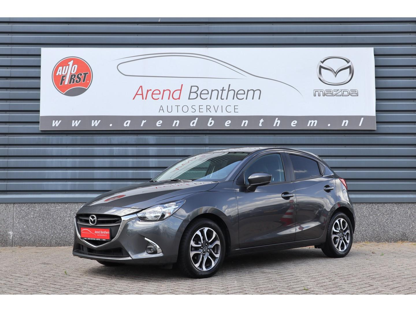Mazda 2 1.5 skyactiv-g sport selected - camera - airco - cruise