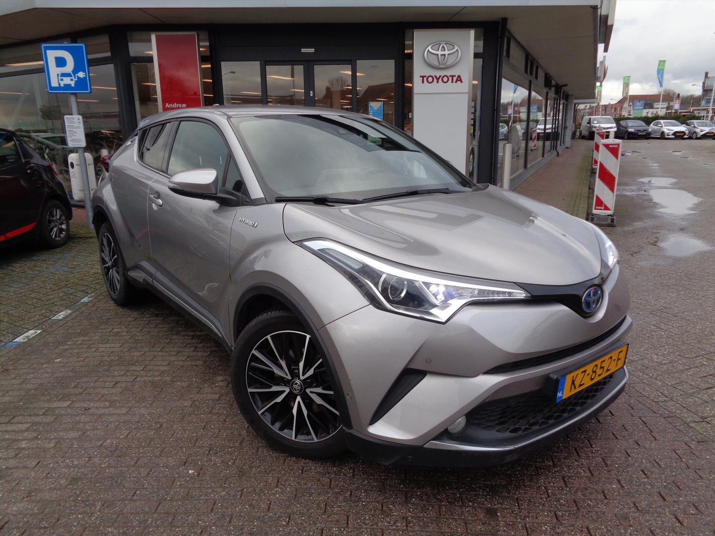 Toyota C-hr 1.8 hybrid 122pk cvt first edition