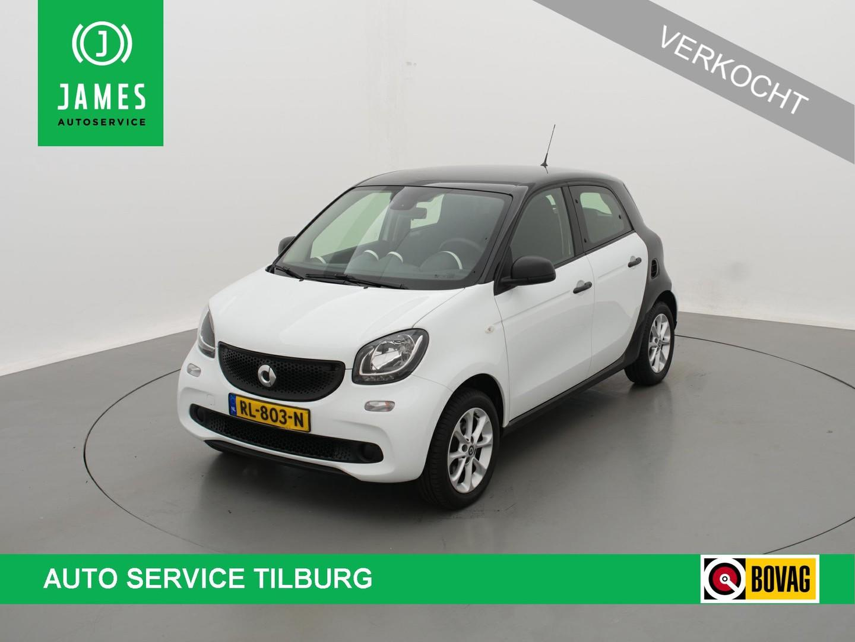 "Smart Forfour 1.0 pure comfort clima cruise 15""lmv parkeersensoren"