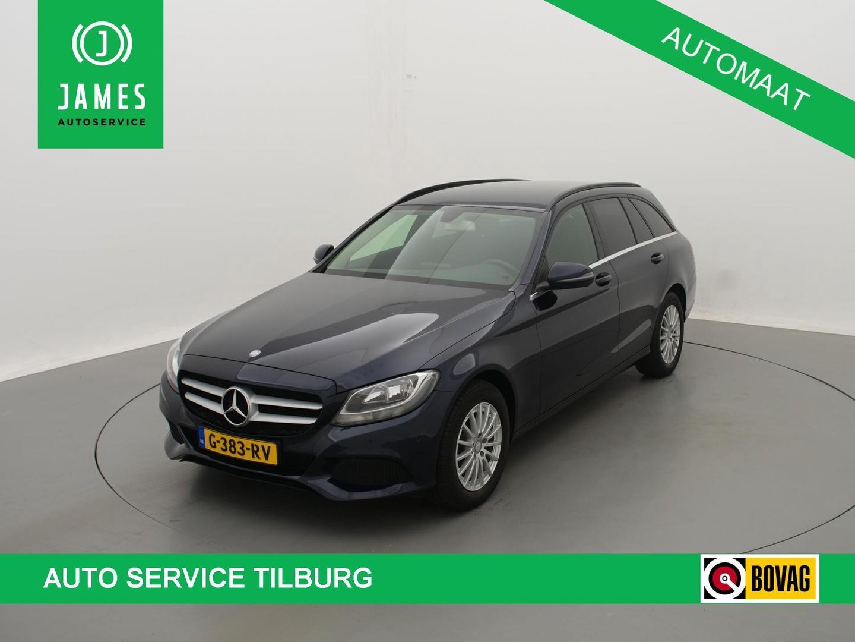 Mercedes-benz C-klasse Estate 180 *157 pk* aut. navi cruise clima lmv trekhaak
