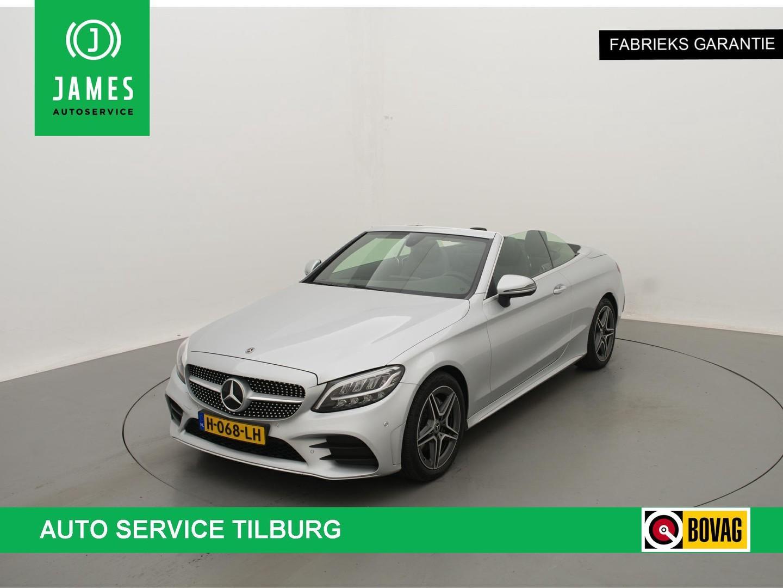 Mercedes-benz C-klasse Cabrio 200 *184pk* aut9 amg-line camera airscarf full-led
