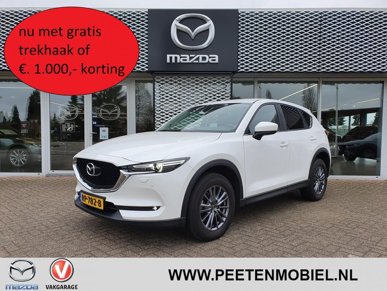 Mazda Cx-5 2.0 skyactiv-g 165 ts+ i-activsense automaat nu met gratis trekhaak of €. 1.000,- korting!!!