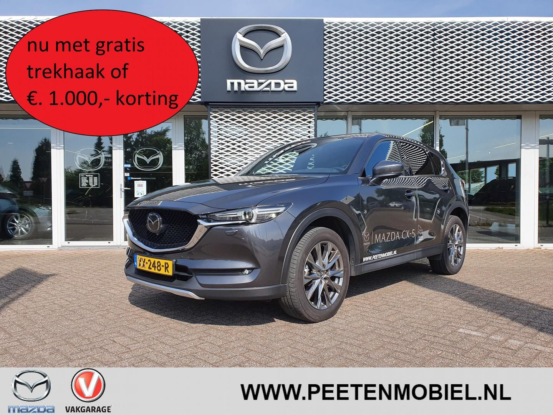 Mazda Cx-5 2.0 skyactiv-g 165 signature automaat nu met gratis trekhaak of €. 1.000,- korting!!!