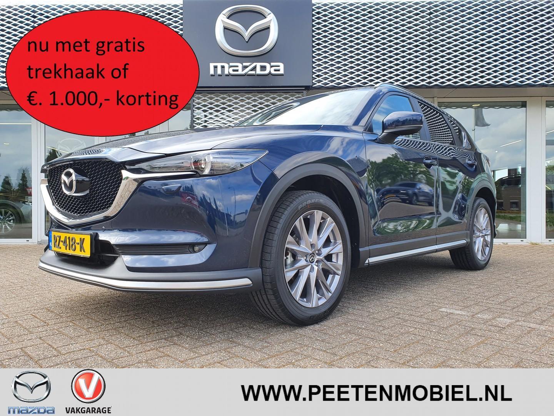 Mazda Cx-5 2.0 skyactiv-g 165 ts+ automaat nu met gratis trekhaak of €. 1.000,- korting!!!