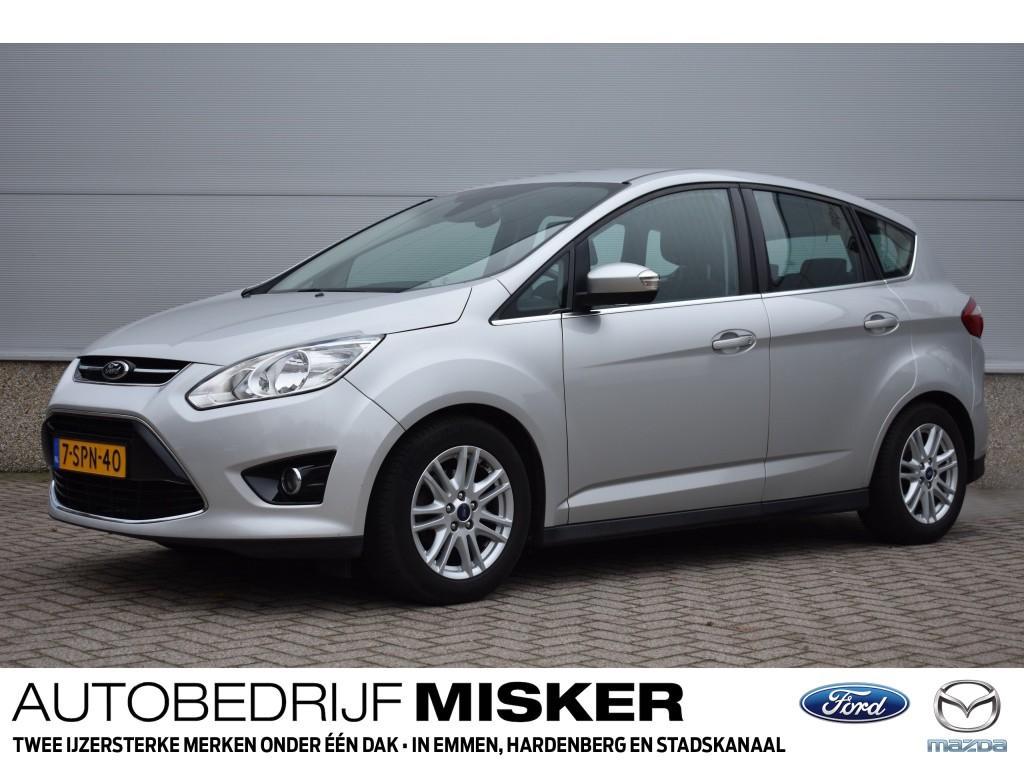 Ford C-max 1.0 ecob. 125pk navi/clima/cruise/trekhaak!