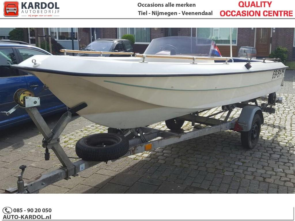 Boot Angelo Mariner 45pk incl. trailer