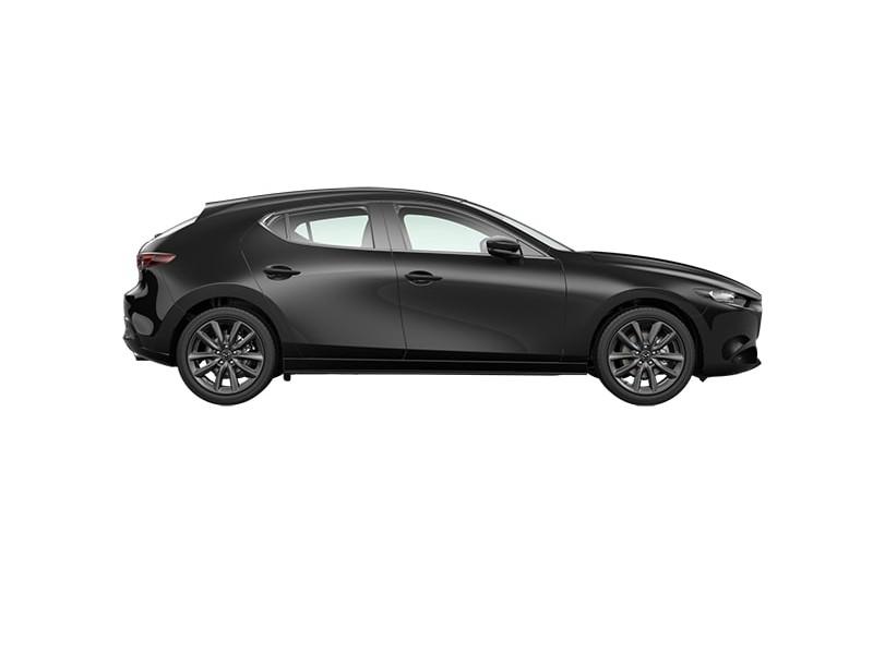 """Mazda 3 2.0 skyactiv-g comfort + leer + 18"""" velgen"""