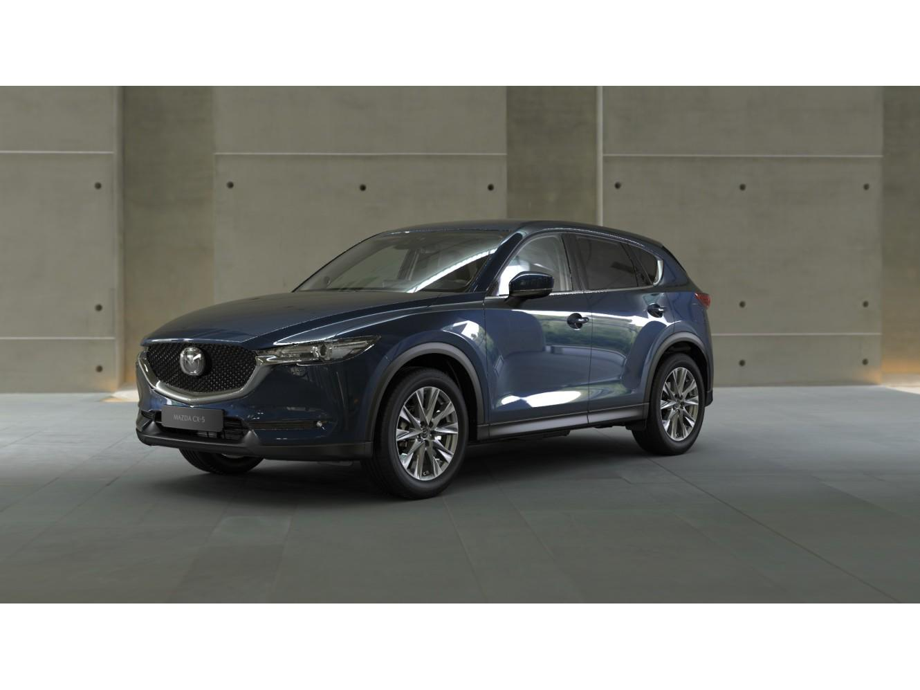 Mazda Cx-5 2.0 skyactiv-g 165 business luxury, wit leer