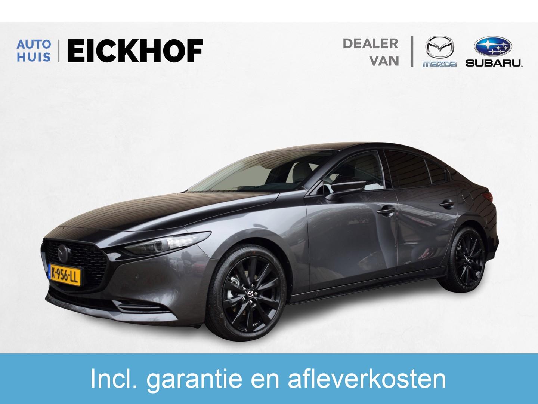 Mazda 3 2.0 skyactiv-x automaat black edition luxury