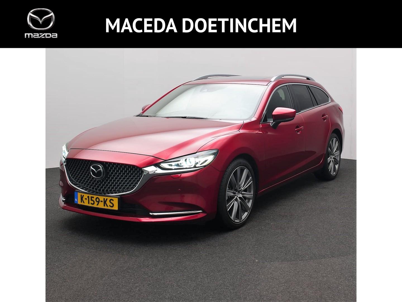 Mazda 6 Sportbreak 2.2d 184 pk automaat signature full option!
