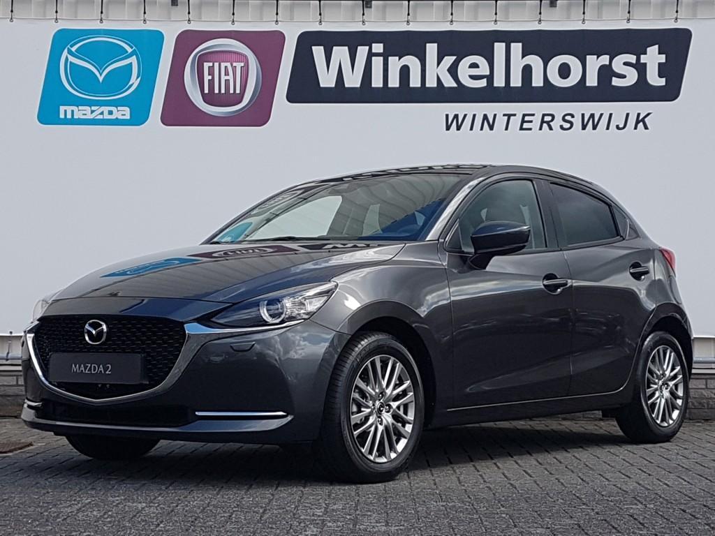 Mazda 2 1.5 skyactiv-g 90pk luxury / climate control / stoelverwarming /
