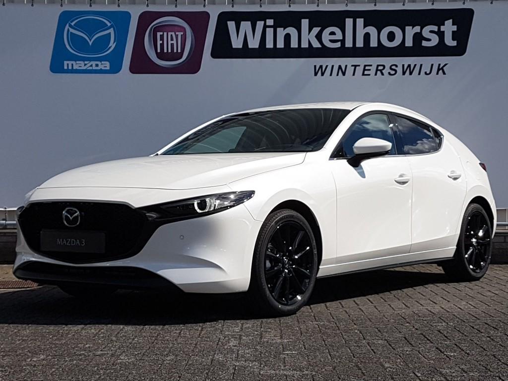 Mazda 3 2.0 skyactiv-x 180pk luxury / voorraadkorting