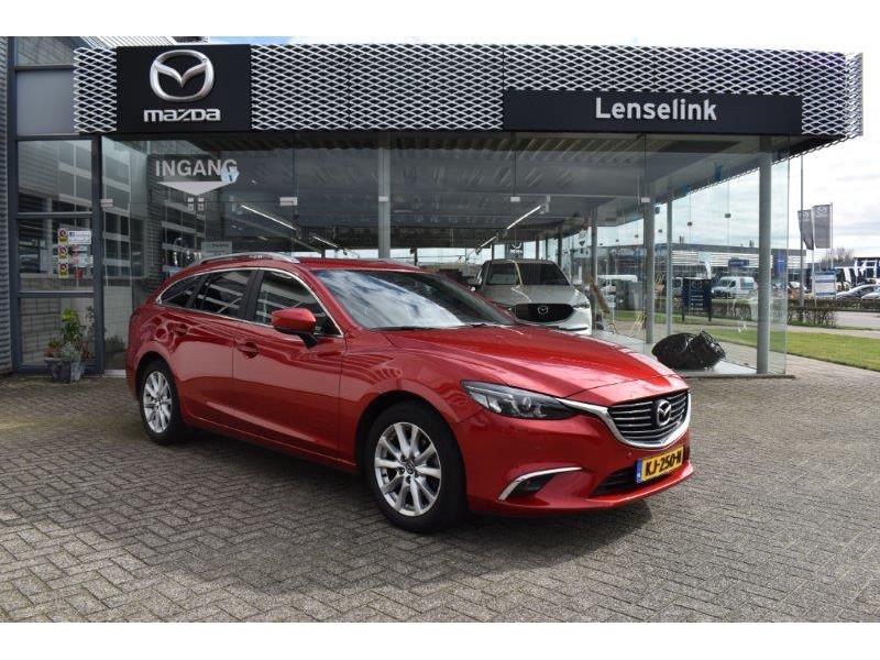 Mazda 6 2.2d 150pk skylease gt nnavi / leer / bose / 100% dealer onderhouden