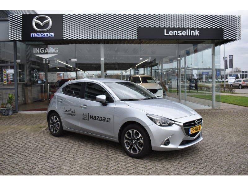 Mazda 2 1.5 skyactiv-g gt-m camera / ecc / stoelverwarming / navi *demo*