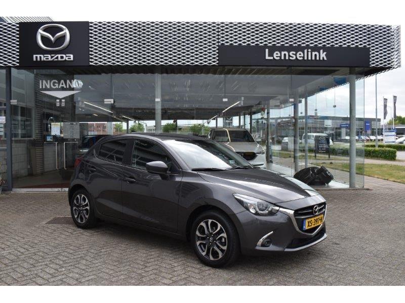 Mazda 2 1.5 skyactiv-g gt-m 1e eig / 100% dealeronderhouden / navi / pdc / camera / ecc