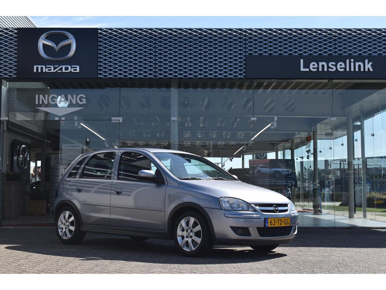 Opel Corsa 1.2 16v twinport 5 deurs / silver line / airco / cruise control / elek ramen / boekjes aanwezig