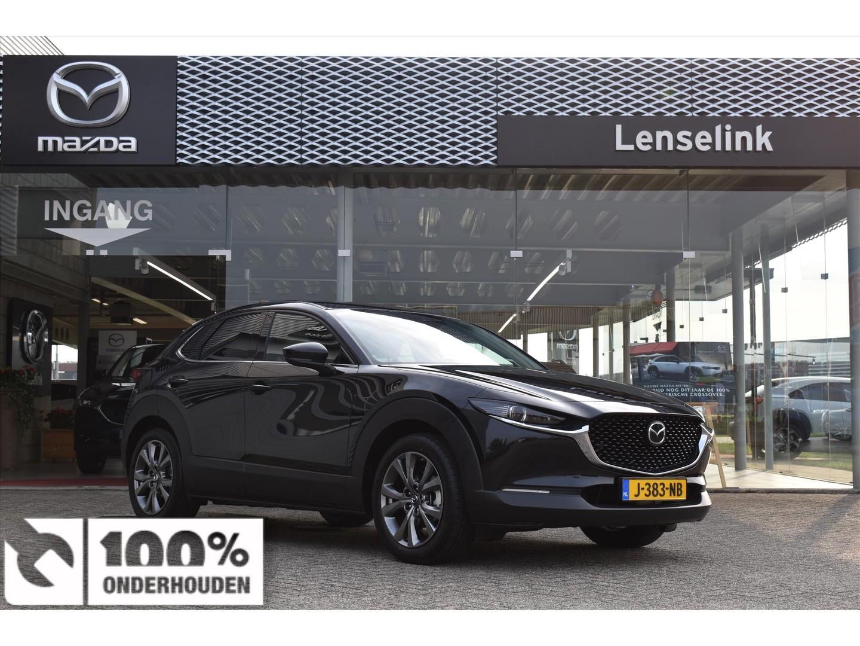 Mazda Cx-30 Skyactiv-x 180pk luxury / navi / leder / bose / camera / elek. achterklep / *demo*