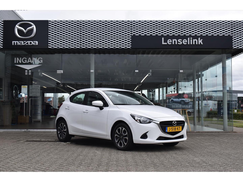 "Mazda 2 1.5 skyactiv-g s / 100% dealeronderhouden / airco / 16"" lmv / bluetooth telefoonverbinding"