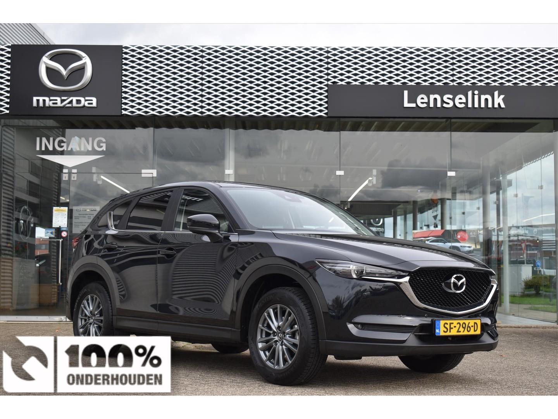 Mazda Cx-5 2.0 skyactiv-g 165pk skylease gt / automaat / 1e eig / 100% dealeronderhouden / trekhaak / navi / all seasons / leder / pdc v+a