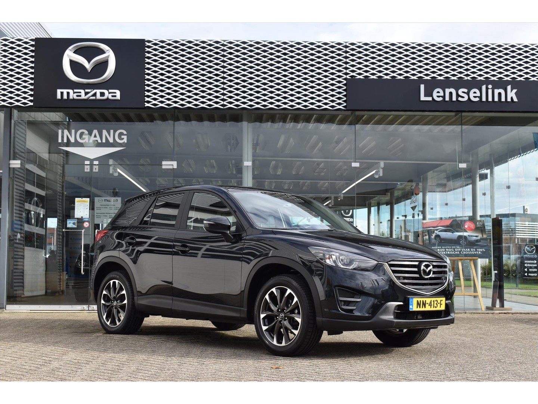 "Mazda Cx-5 2.0 gt-m line / dealeronderhouden / camera / pdc v&a / trekhaak / 1800kg trekgewicht / leder / 19"" lmv / navi / elektronische ai"
