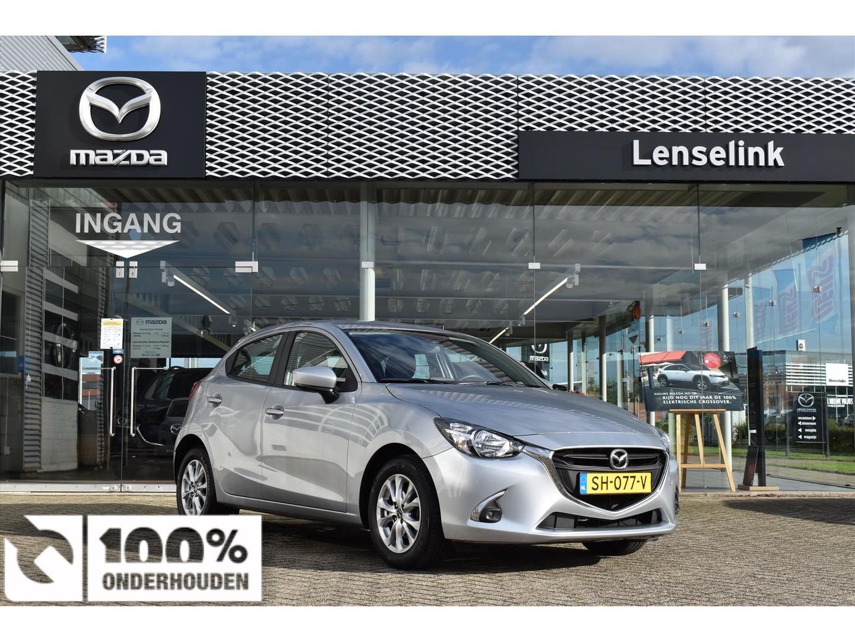 Mazda 2 1.5 dynamic / 1e eig / 100% dealeronderhouden / airco / parkpilot / lane departure warning / bluetooth / navi