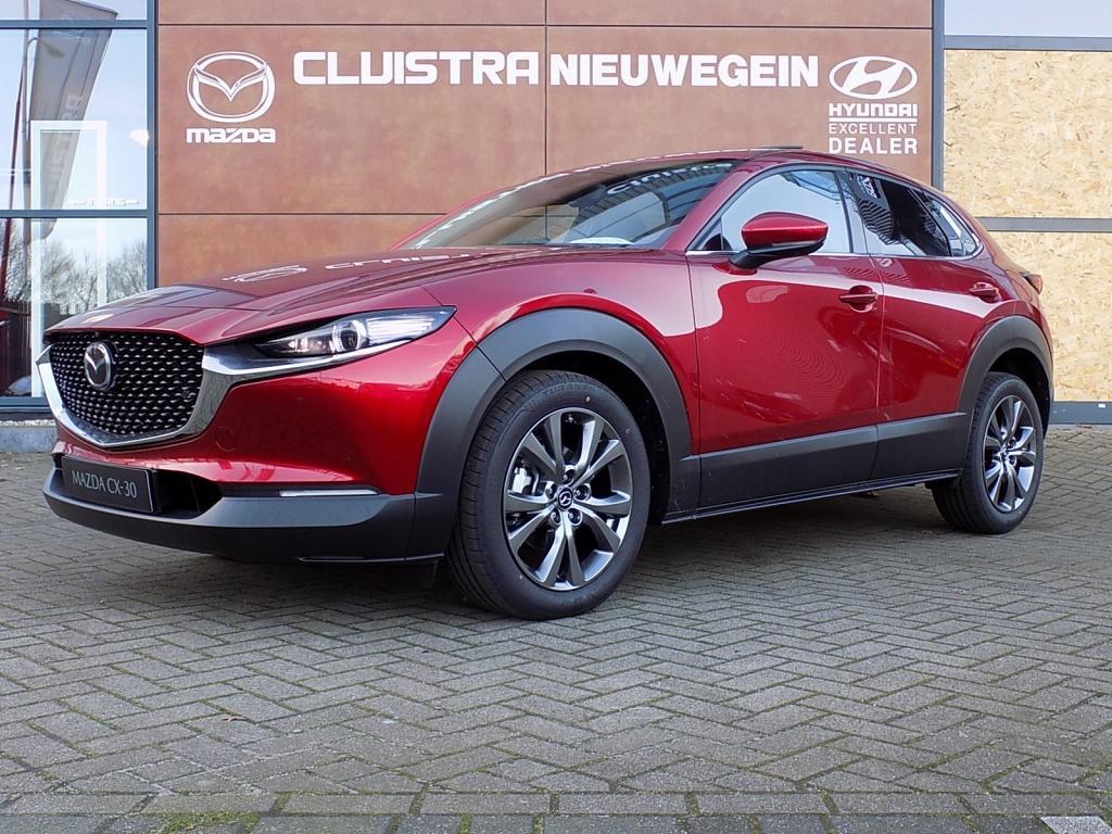 Mazda Cx-30 2.0 skyactiv-x luxury & i-activsense pakket & sunroof voorraad