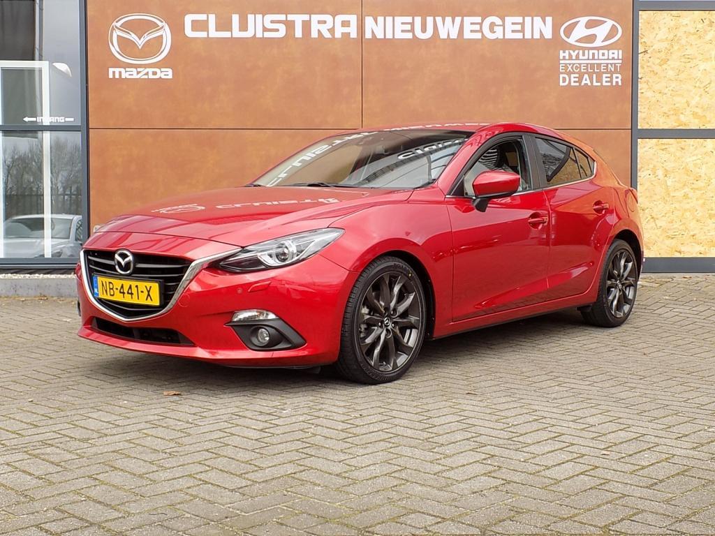 Mazda 3 2.0 gt-m line, trekhaak, btw auto