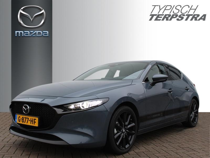 Mazda 3 Hb skyactiv-x 180 luxury demo i-activsense /dieprood leer